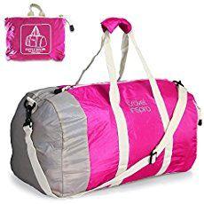 c6ff21b9f6 Foldable Waterproof Travel Luggage Duffle Bag Lightweight for Sports