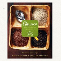 "Filled with more than 170 nutritious recipes, Quinoa 365 shares delicious suggestions for incorporating this superfood into your everyday diet. Highlighting quinoa as a great source of protein containing all eight essential amino acids, this balanced recipe collection offers suggestions for breakfast, lunch, dinner, baby food, and even dessert. An ideal cooking tool for health-conscious, vegetarian, physically active, or gluten-free eaters. 10"" x 8"" x .5"", 192 pages, paperback, Whitecap Books"