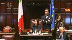 DI BATTISTA M5S VUOLE PARLARE SU DIMISSIONI MOGHERINI MA BOLDRINI DICE N...