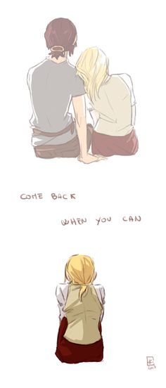 Ymir and Krista are the only gay ship I root for in AoT. It seems more canon to me than EreRi or EruRi or JeanMarco. -_-