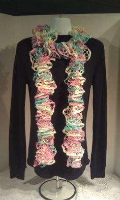 Sashay scarf Womens scarf Multicolor scarf by JANSONESTOPSHOP, $21.00