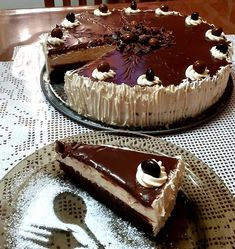 Greek Desserts, Greek Recipes, Chocolate Sweets, Good Foods To Eat, Christmas Cupcakes, Cakes And More, Sweet Tooth, Sweet Treats, Dessert Recipes