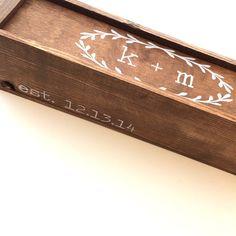 Wedding wine box first fight box wedding wine ceremony
