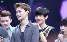 140611 Baekhyun Chen at Happy Camp Recording ©mr mini