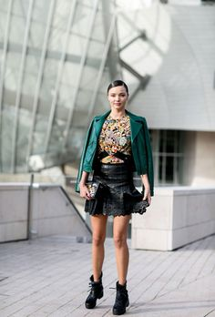 Miranda Kerr at Paris Fashion Week SS16