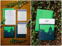 Laser cut and letterpressed invitation suite by Sugar River Stationers, image by Kate Bentley.  edgewater-hotel-wedding-madison-wi_kate-bentley_0054.jpg