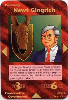 Newt Gingrich - Illuminati: New World Order (INWO) is a collectible card game (CCG) that was released in 1995[1] by Steve Jackson Games, based on their original boxed game Illuminati, which in turn was inspired by The Illuminatus! Trilogy. INWO won the Origins Award for Best Card Game in 1997.