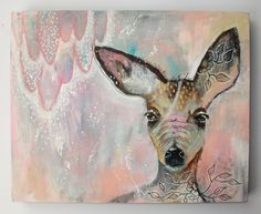 The magic of one...original painting by Micki Wilde.. SOLD