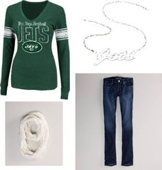 This is cute Becca!  Let's get ready for football season!  NY JETS <3