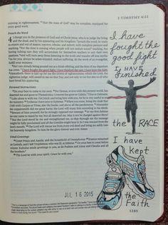 2 Timothy 4:7 - by Paula-Kay Bourland