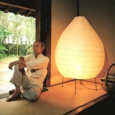 noguchi and akari floor lamp