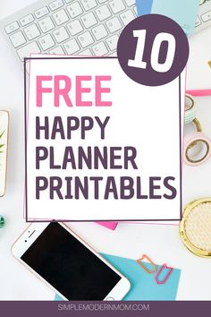 Grab your free Happy Planner printables in our Resource Library! Includes weekly Happy Planner inserts, vertical and horizontal inserts, meal planning pages and Create 365 Happy Planner, To Do Planner, Planner Tips, Free Planner, College Planner, College Tips, Weekly Planner, Printable Planner Pages, Printable Stickers