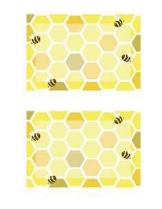 Everyday Art: Honeybee Printables for baby shower