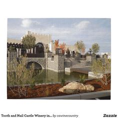 Tooth and Nail Castle Winery in Paso Robles Puzzle