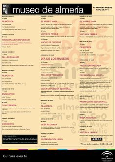 Programación de actividades del #MuseodeAlmería para el mes de mayo ¿Te lo vas a perder?