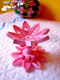 Quilling joy by Marius: The first quilled Easter egg.