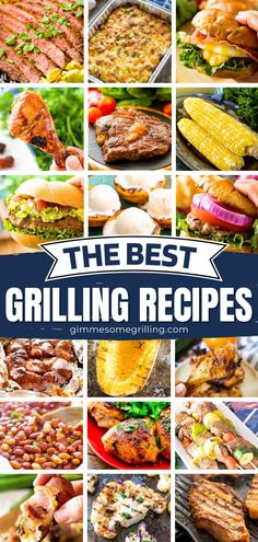 In search of dinner ideas for tonight? This roundup of The Best Grilling Recipes has got you covered! Not only will you find some main dishes and foil packet meals, but there are also appetizers, side dishes, and even desserts. There is something for everyone here! Easy Main Dish Recipes, Easy Homemade Recipes, Yummy Recipes, Dinner Recipes, Cookout Side Dishes, Cookout Food, Grilling Recipes, Cooking Recipes, Foil Packet Meals