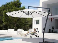 Parasol of very high quality. Parasol that adorn the patio and provide shade. Deck With Pergola, Covered Pergola, Patio Roof, Diy Pergola, Pergola Kits, Pergola Ideas, Best Patio Umbrella, Patio Umbrellas, Amalfi