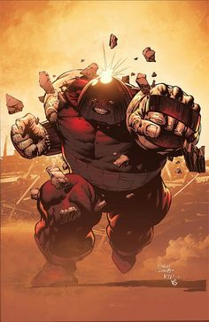 Full steam ahead! Art by :Finch Did you know that Juggernaut is not a mutant?