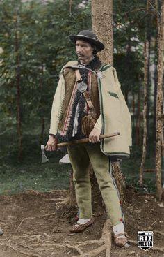 Polish Folk Art, The Shepherd, Romania, Book Worms, Poland, Cowboy Hats, Culture, Costumes, Traditional