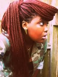 box braids with color 2013 - Google Search