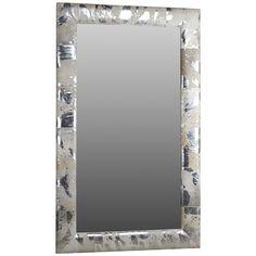 Intercule Home Aldo Metallic Hide Mirror 325031
