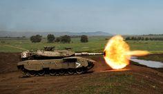 Izrael oferuje na eksport czołg Merkava, ale nie wszystkim | DEFENCE24