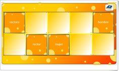 """Memory: """"El nombre: género y número"""" (Juego de parejas de nombres) Bingo, Couple Games, Teaching Resources, Learning Spanish, Names, Learning"""