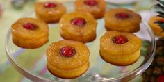 Jocelyn Delk Adams' Mini PIneapple Upside-Down Cakes + Marble Cakelettes Fall Dessert Recipes, Fall Desserts, Delicious Desserts, Fun Baking Recipes, Cake Recipes, Mini Cakes, Cupcake Cakes, Bundt Cakes, Layer Cakes