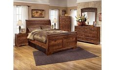 Timberline Sleigh Bedroom Set... can you say LOVE!!!!!!