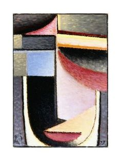 Abstract Head: the Chalice Passed Me, 1929 Giclee Print by Alexej Von Jawlensky at Art.com