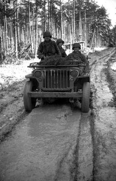 Mud, Hurtgen Forest, Germany. December 1944. By Tony Vaccaro.
