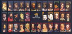 Aqui irei apresentar todos os 34 reis da monarquia portuguesa… 1º Dinastia – Afonsina1º Rei de Portugal – D. Afonso Henriques – O Conquistador Filho do Conde D. Henrique. …