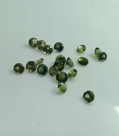 Wholesale Lot 2.25mm Round Facet Natural Multi Tourmaline Loose Calibrated Gems