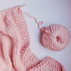Morganite Blanket - Morgane Mathieu for We Are Knitters