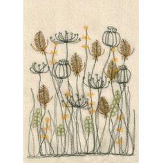 Cream teasels postcards