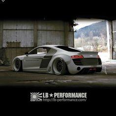 Audi R8 by LB Performance..