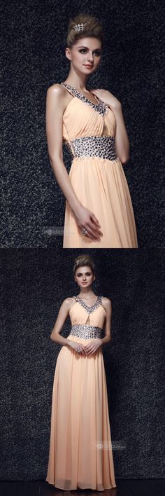 sweet dress Fashion Women, Women's Fashion, Fashion Outfits, Beautiful Clothes, Beautiful Outfits, Prom Party Dresses, Evening Dresses, Peach Gown, Just Girl Things