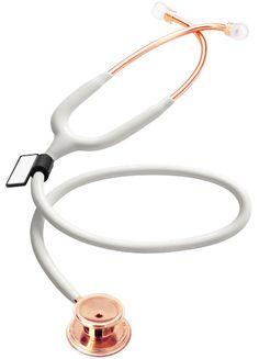 Stetoskop internistyczny MDF MD One 777 różowe złoto