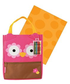 Take a look at this Owl Art Tote by Stephen Joseph on #zulily today!