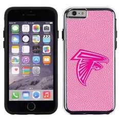Atlanta Falcons Pink NFL Football Pebble Grain Feel IPhone 6 Case