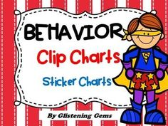 Behavior Clip Chart and Sticker Charts - Classroom decoration in Superhero… Kindergarten Themes, Classroom Activities, Classroom Tools, Classroom Organisation, School Classroom, Behavior Management System, Classroom Management, Teacher Resources, Teaching Ideas