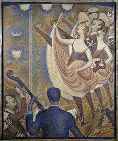 Georges Seurat, 1889-90, Le Chahut, oil on canvas, 170 x 141 cm, Kröller-Müller Museum - Can-can - Wikipedia, the free encyclopedia