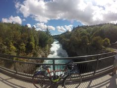 Huka falls - Taupo, NZ World Cycle, Mtb, Places Ive Been, Cycling, Bucket, Around The Worlds, Adventure, Mountains, Fall