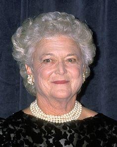 #BarbaraBush #RIP The first lady seen here at the 44th Annual Alfred E. Smith Memorial Foundation Dinner at Waldorf Astoria Hotel NYC. #firstlady #georgebush #jebbush #BarbaraBushFoundationforFamilyLiteracy #reading #literacy #readingisfundamental