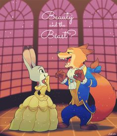 The Bunny and The Fox ❤