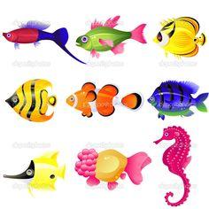 Tropical fish — Stock Vector © jara3000 #1839276