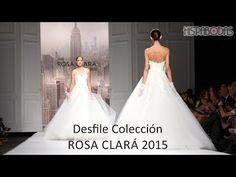 Rosa Clará Desfile Vestidos de Novia 2015 con Alba Carrillo - YouTube