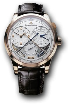 Jaeger LeCoultre Watch Duometre a Chronographe #bezel-fixed #bracelet-strap-alligator #brand-jaeger-lecoultre #case-material-rose-gold #case-width-42mm #chronograph-yes #clasp-type-tang-buckle #delivery-timescale-4-7-days #dial-colour-silver #gender-mens #luxury #movement-manual #new-product-yes #official-stockist-for-jaeger-lecoultre-watches #packaging-jaeger-lecoultre-watch-packaging #power-reserve-yes #style-dress #subcat-duometre #supplier-model-no-q6012521…