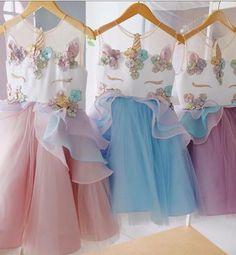 PREORDER Unicorn Birthday Dress